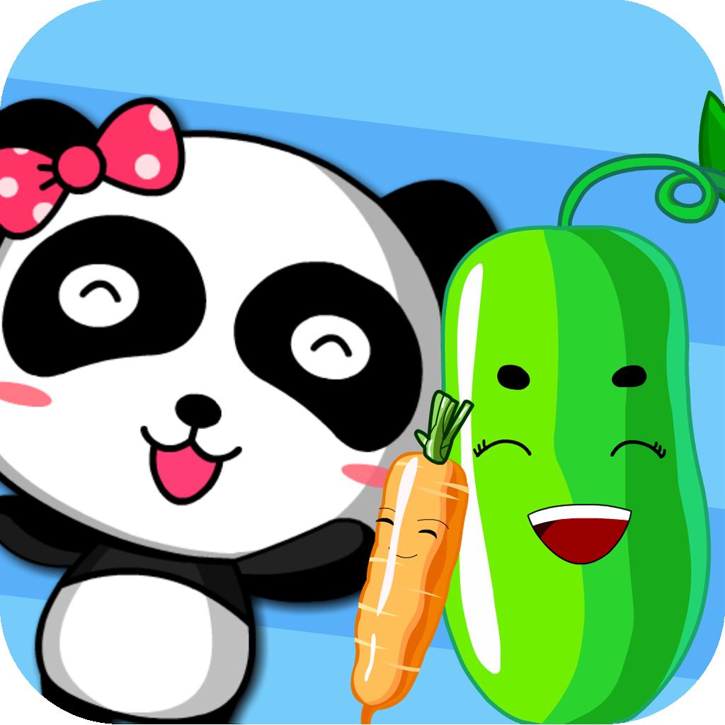 宝宝学蔬菜将生活中常见的蔬菜拟人化
