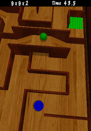 Screenshot Maze Quest 3D Lite